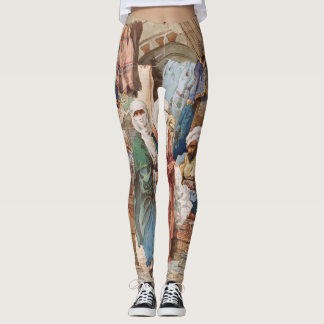 """The Silk Bazaar"" art leggings"