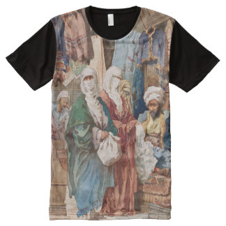 """""""The Silk Bazaar"""" art t-shirt All-Over Print T-Shirt"""