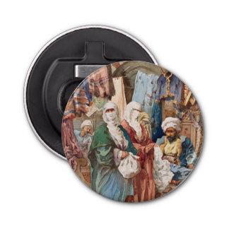 """""""The Silk Bazaar"""" bottle opener"""