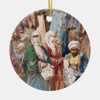 """The Silk Bazaar"" custom ornament"