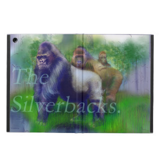 The Silver-Backs Cover For iPad Air