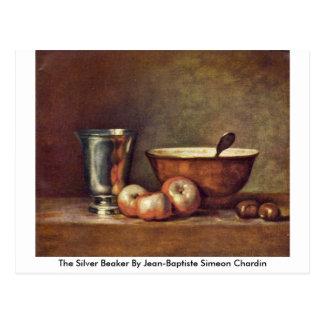 The Silver Beaker By Jean-Baptiste Simeon Chardin Postcard