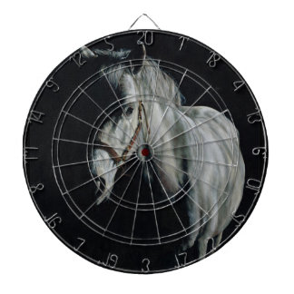 The Silver Horse in the shadows Dartboard