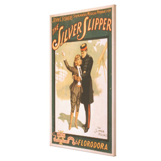 The Silver Slipper Musical Theatre Poster #1 Canvas Print