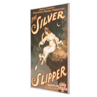 The Silver Slipper Musical Theatre Poster #2 Canvas Print