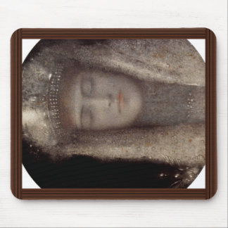 The Silver Tiara By Khnopff Fernand (Best Quality) Mouse Pad