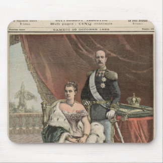 The Silver Wedding Anniversary of the King Mouse Mat