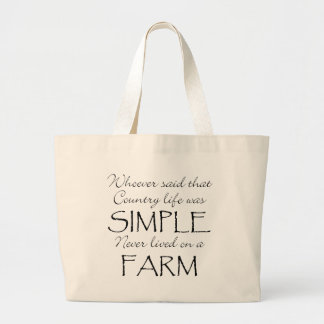 The Simple Life Tote Bags