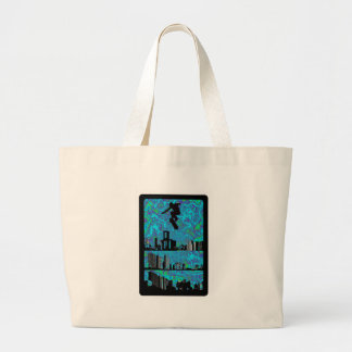 The Simple Plain Jumbo Tote Bag