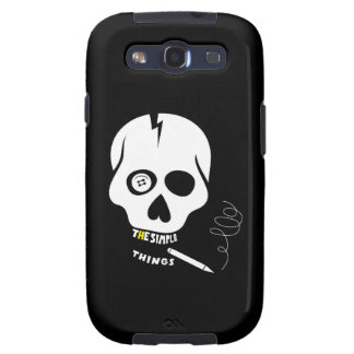The simple things skull galaxy SIII case