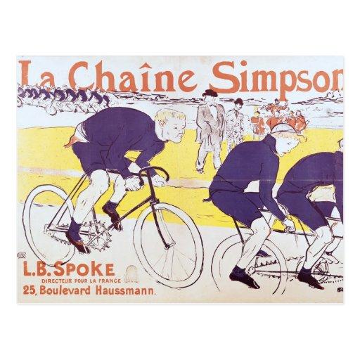 The Simpson Chain, 1896 Postcard