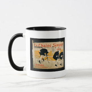 'The Simpson Chain', Paris (colour litho) Mug