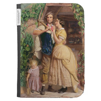 The Sinews of Old England, 1857 (w/c & bodycolour Kindle Keyboard Cases