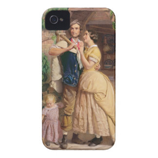 The Sinews of Old England, 1857 (w/c & bodycolour iPhone 4 Case-Mate Cases