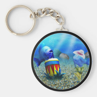 The Singing Fish Key Chains