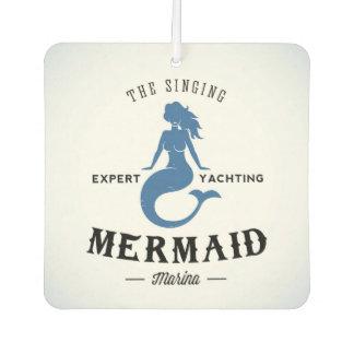 The Singing Mermaid Poster Car Air Freshener