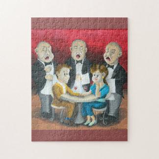The Singing Waiters Jigsaw Puzzle