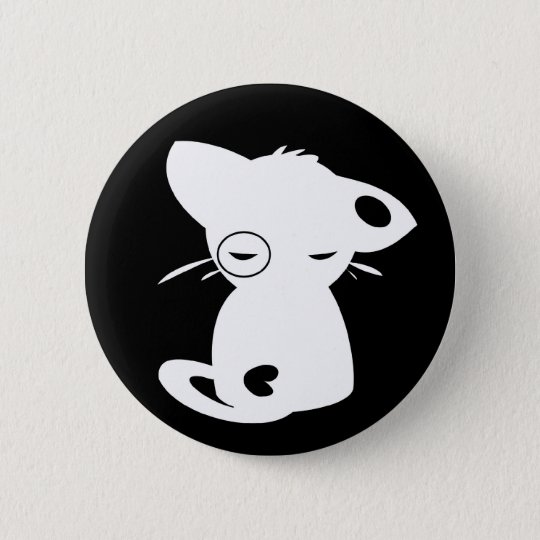The sinister mittens 6 cm round badge
