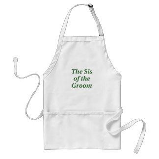 The Sis of the Groom Standard Apron