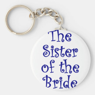 The Sister of the Bride Keychain
