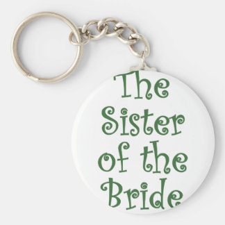 The Sister of the Bride Keychains