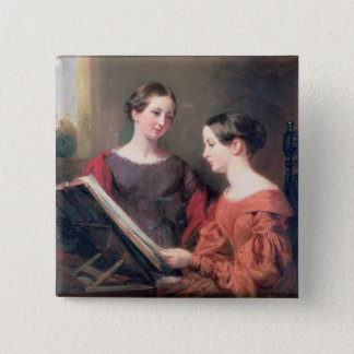 The Sisters, 1839 15 Cm Square Badge