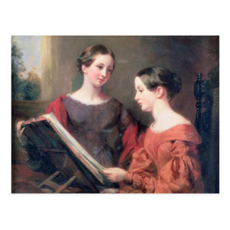 The Sisters, 1839 Postcard