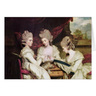 The Sisters Waldegrave By Reynolds Sir Joshua Card