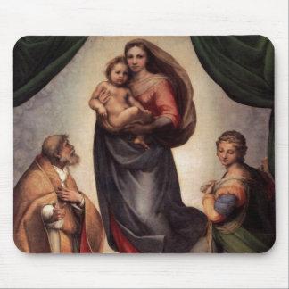 The Sistine Madonna Mouse Pad