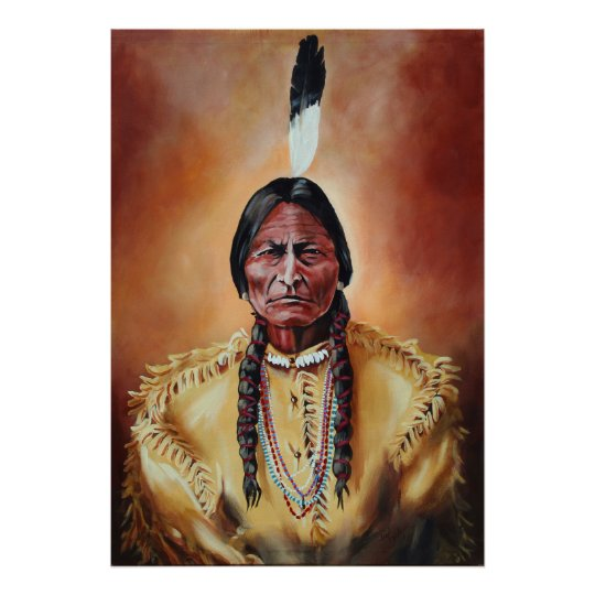 The Sitting Bull Poster