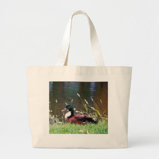 The Sitting Duck Large Tote Bag