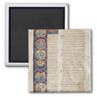 The Six Days of the Creation Square Magnet