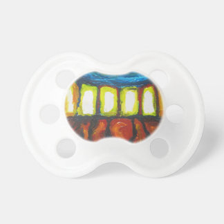 The Six Doors (spiritual expressionism ) Baby Pacifier