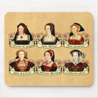 The SIx Wives of Henry VIII Classic Mouse Pad