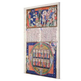 The Sixth Seal Canvas Print