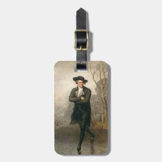 The Skater (Portrait of William Grant) Bag Tag