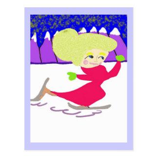 The Skater Postcard