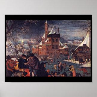 The Skaters', Pieter Brueghel_Dutch Masters Poster