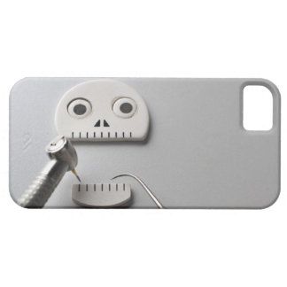 The skeleton which dental treatment is taken barely there iPhone 5 case