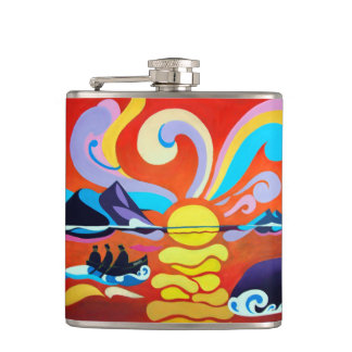 The Skellig Island Range Hip Flask