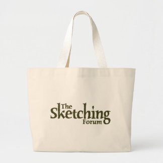 The Sketching Forum Logo Bags