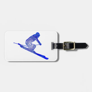 THE SKI EDGES LUGGAGE TAG