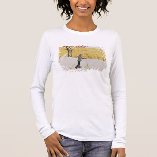 The Skier, c.1909 Long Sleeve T-Shirt