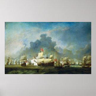The Skirmish of Michiel Adriaensz de Ruyter Print