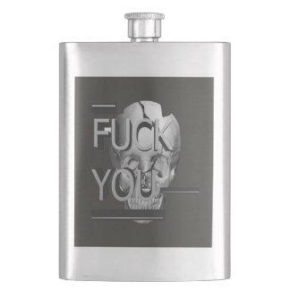 The Skull Hip Flask