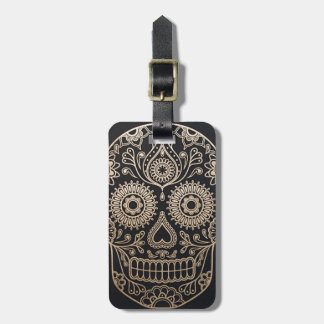 The Skull Luggage Tag