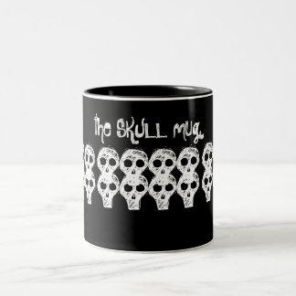 the SKULL mug (black)