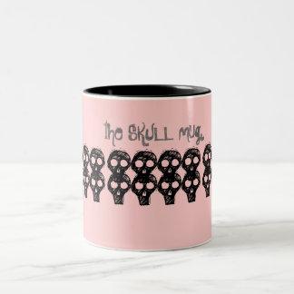 the SKULL mug (pink)