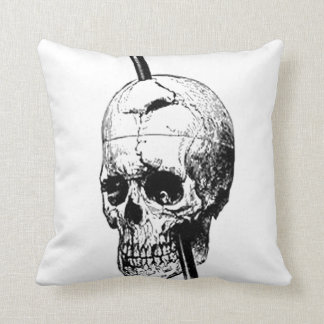The Skull of Phineas Gage Cushion