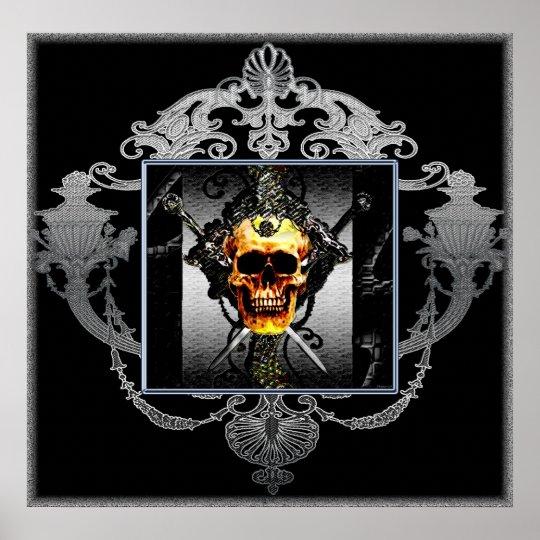 The Skull Queen Poster